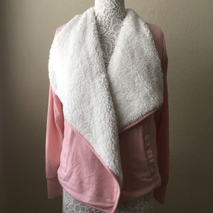 Sherpa Lined Cardigan